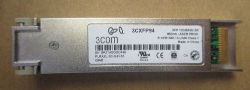 3Com 10G Base-SR 850nm Multi-mode 300m 850nm XFP Transceiver Module 3CXFP94